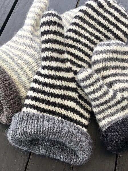 Luffe - strikkekit til 2 par