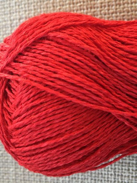 #38 hør - Rød